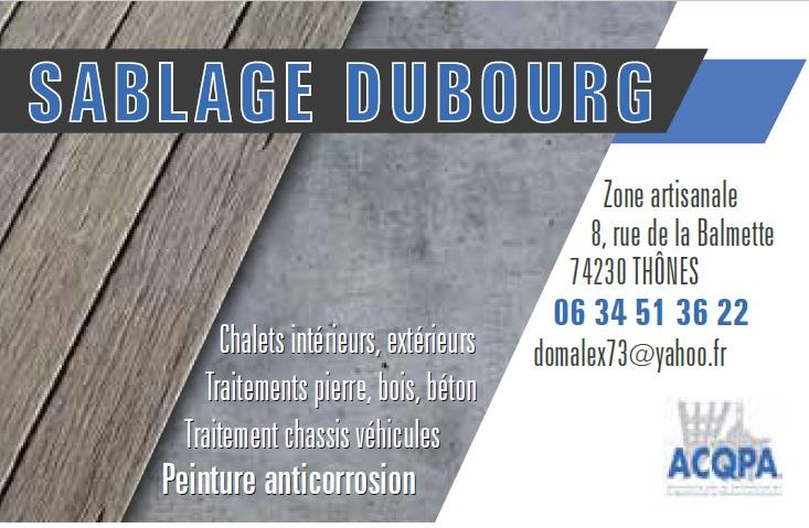 Sablage Thones – Sablage de chalet a Thones – Sablage gommage chalets Aravis – Traitement de châssis véhicule en Haute Savoie